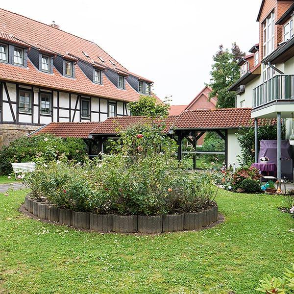 Gartenanlage Rosengarten